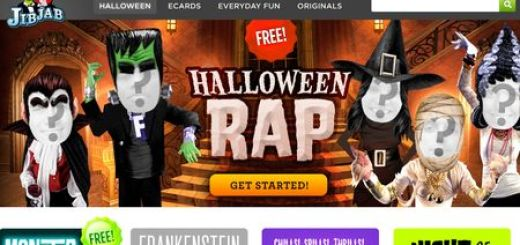 JibJab e-cards, Envia tarjetas animadas de Halloween con tu rostro