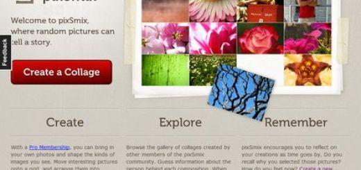 pixSmix, Crea collages que reflejen tu estado de animo