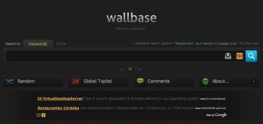 Wallbase, Mas de medio millon de fondos para tu Escritorio