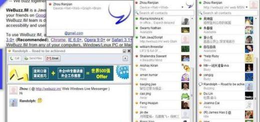 WeBuzz.im, Cliente de mensajeria multiprotocolo online