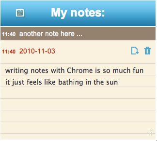Quickrr Notepad, Un bloc de notas para Google Chrome