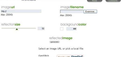 ReflectionMaker, App online para crear efecto reflejo en tus imagenes