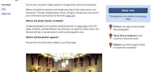 Bussiness Photos, Nueva iniciativa de Google fotografia el interior de negocios