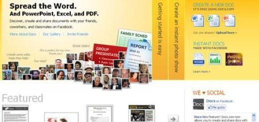 Docs.com - Trabaja con Word, Excell y PowerPoint desde tu navegador