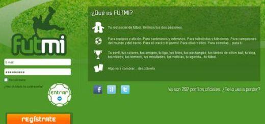 Futmi - Red social para jugadores, equipos y aficionados de futbol