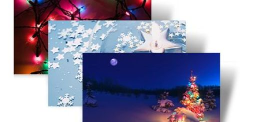 Holiday Lights, Tema navideño para Windows 7