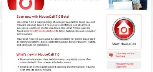 Trend Micro HouseCall, Antivirus online y gratuito