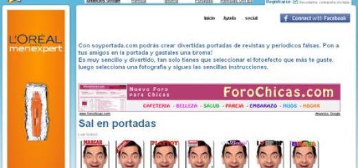 SoyPortada, Crea fotomontajes con tu rostro como portada de revista