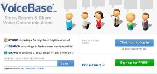 VoiceBase, Aplicacion online para convertir audio a texto