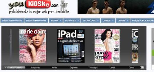 Youkioske: El YouTube de las revistas, comics, prensa y libros