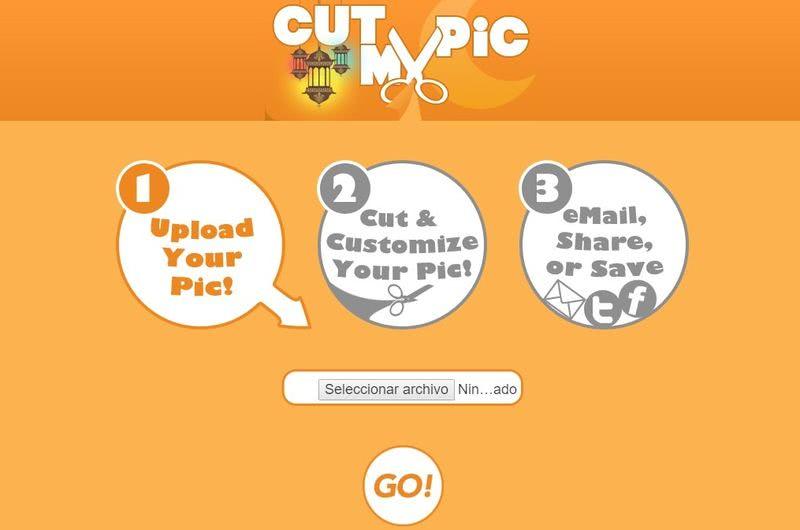 Cut My Pic: fantástica aplicación web gratuita para cortar imágenes y más