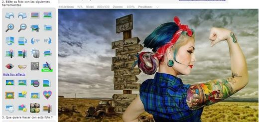 Pixenate: editor de imagenes online con diversos efectos