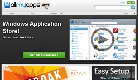 Allmyapps, Tienda de aplicaciones para Windows