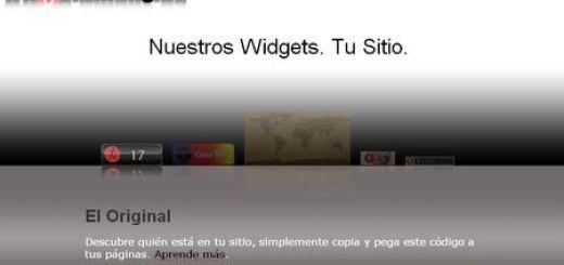 Widget gratuito para mostrar los usuarios online