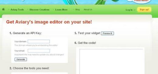Aviary HTML5, Crea un editor de imagenes online para tu web