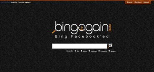 BingAgain, Los resultados de Bing ordenados segun su popularidad en Facebook