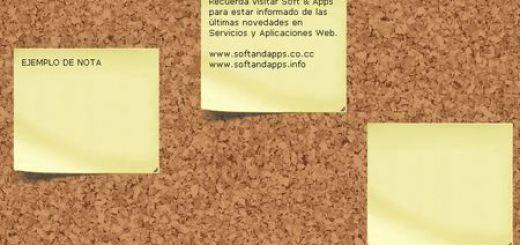 Corkboard, Tablon virtual para compartir notas tipo post-it en internet