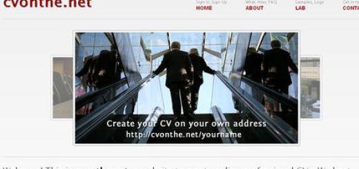 cvonthe.net, Tu curriculum en la nube