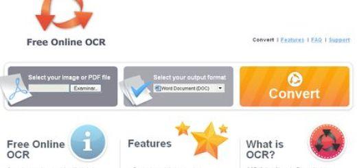 Free Online OCR, Convierte el texto de tus imagenes en documentos editables