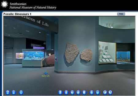 Visita virtual al Museo de Historia Natural de Smithsonian