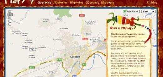 MapSkip, Comparte historias geolocalizadas