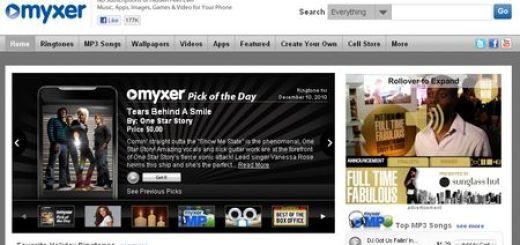 Myxer: Tonos, Juegos, Fondos, Apps y mas para tu telefono movil