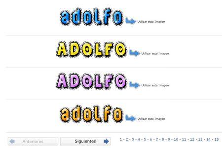 NombresAnimados.net, Tu nombre o firma a base de gif animados