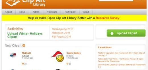 OpenClipArt, Descarga gratuita de miles de ClipArts