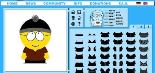 SP-Studio, Aplicacion web para crear avatares estilo South Park
