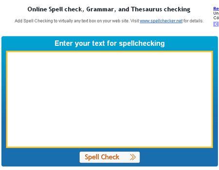 SpellChecker, Corrector gramatical online y multilenguaje