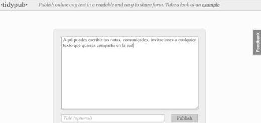 tidypub, Una forma sencilla de compartir textos