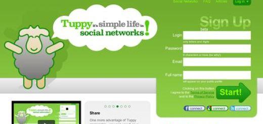 Tuppy, Accede a todas tus redes sociales desde un solo lugar