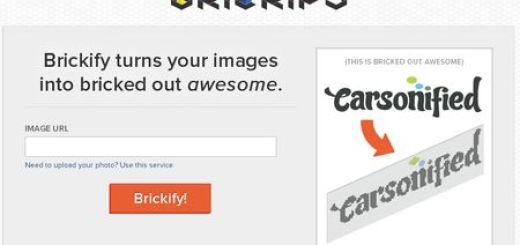 Brickify, Convierte imagenes en personajes de Lego