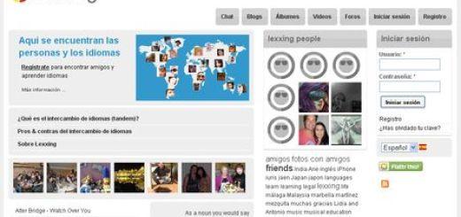 Lexxing, Red social para aprender y practicar idiomas