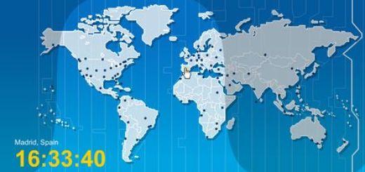 Sekaidokei, Un reloj mundial online
