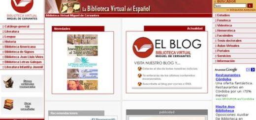 Biblioteca Virtual Miguel de Cervantes, La gran biblioteca online en lengua española