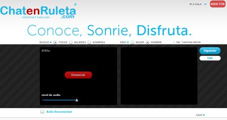 ChatenRuleta, Otro clon de Chatroulette en español