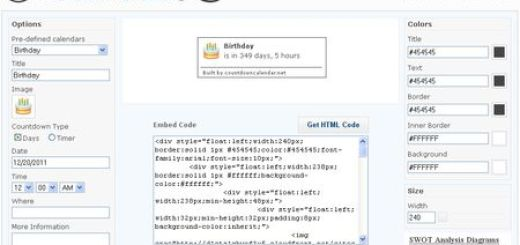Countdown Calendar, Crea un calendario de cuenta atras para tu web