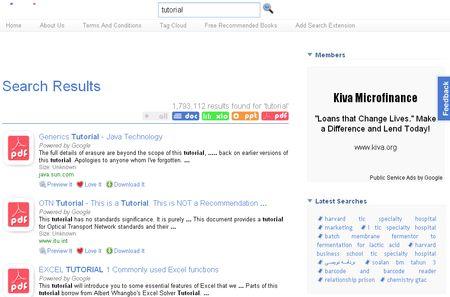 DocJax: Potente buscador de documentos pdf, xls, doc y ppt