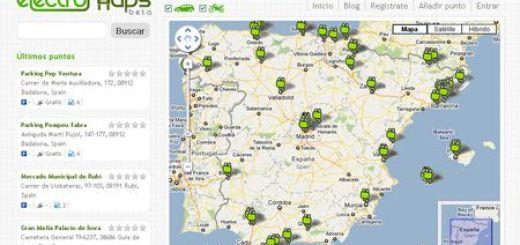 Electromaps, Descubre los puntos de recarga para vehiculos electricos