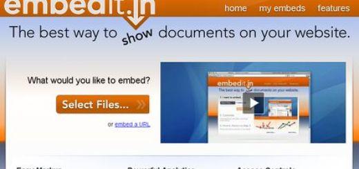 Embedit, Embebe todo tipo de archivos en tu web