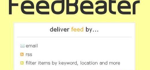 FeedBeater, Sigue cualquier web por RSS (aunque no tenga) o email