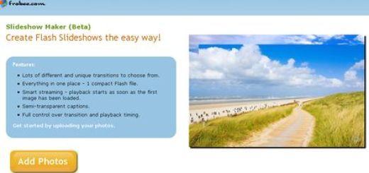 Frobee, Crea pases de diapositivas con tus imagenes online y gratis