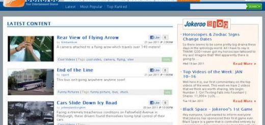 Jokeroo: Red social para compartir videos de humor, imagenes divertidas o juegos y ganar dinero por ello