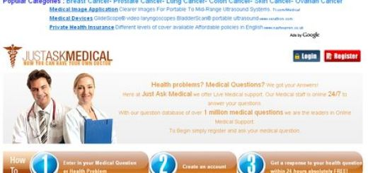 JustAskMedical, Servicio web formado por profesionales que te ofrece una segunda opinion medica