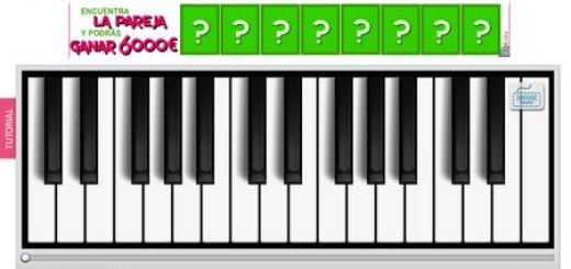 Kisstunes, Piano online para componer musica y compartirla en la red