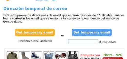 Mail.cz.cc, Cuenta de email temporal de 15 minutos