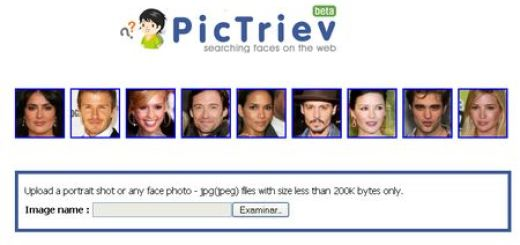 Pictriev, Compara tu rostro con otros semejantes en la red