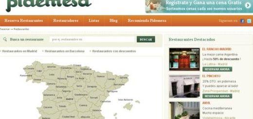 Pidemesa, Reservas online en Restaurantes de toda España