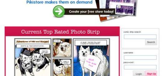PikiStrips, Otra alternativa para crear comics online